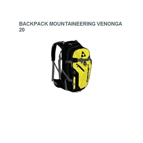 FISCHER MOUNTAINEERING BACKPACK 20L