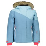 CMP GIRL FIX HOOD JACKET CLOROPHILLE