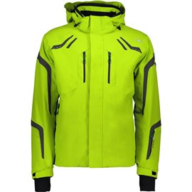 CMP MAN ZIP HOOD JACKET LIME GREEN