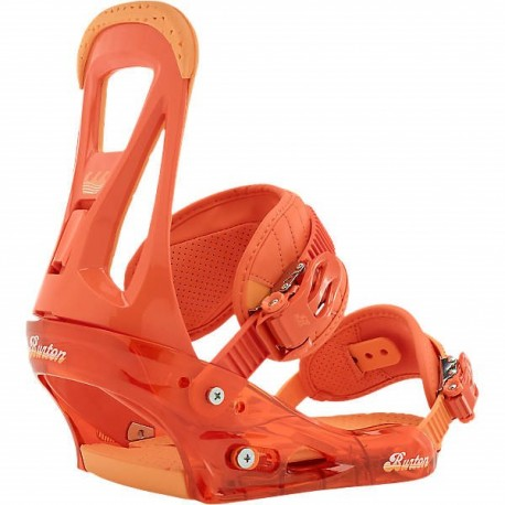 BURTON FREESTYLE ORANGE/M FIJACIÓN