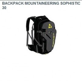 FISCHER MOUNTAINEERING BACKPACK NEGRA 30L