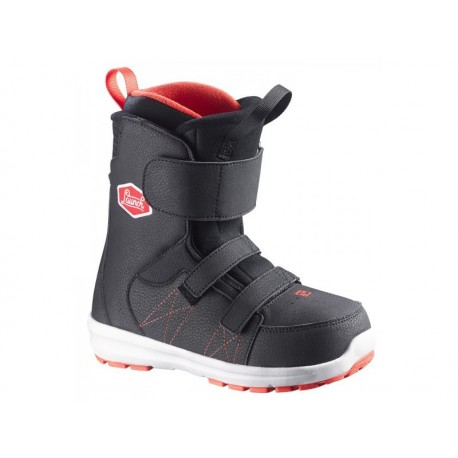 BOTAS SNOW LAUNCH KID BLACK/Red/BLACK