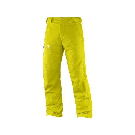 IMPULSE PANT M LIGHT ALPHA YELLOW