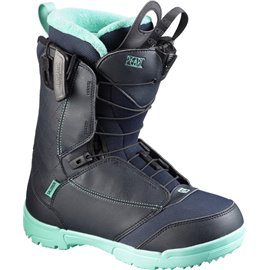 SALOMON BOTAS SNOW PEARL Deep Blue/LIGHT MINT/BL