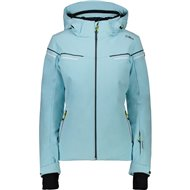 CMP WOMAN JACKET ZIP HOOD SKY LIGHT