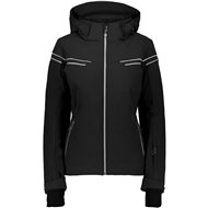 CMP WOMAN ZIP HOOD JACKET NERO