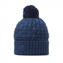 BUFF KNITTED HAT IRON BLUE