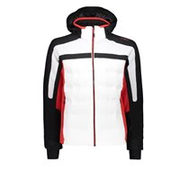 CMP MAN JACKET ZIP HOOD BIANCO