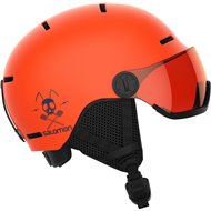 CASCO GROM VISOR FLAME T.ORANGE